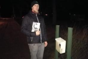 Flygblad utdelade i Kristianstads kommun