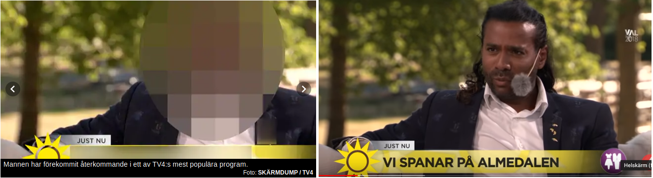 Tv profilen häktad flashback