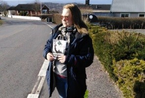 Flygbladsutdelning i Jönköpings kommun