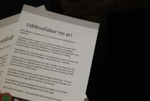 Fortsatt upplysningsarbete i Uddevalla