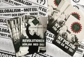 Anti EU-aktivism i Stockholm