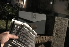 Propagandaarbete i Stockholm