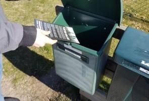 Informationsutdelning i Gnosjö kommun