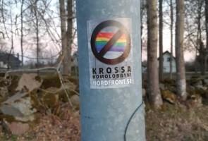 Flygblad utdelade i Mullsjö