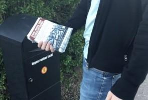 Antiglobalistiska flygblad utdelade i Karlstads kommun
