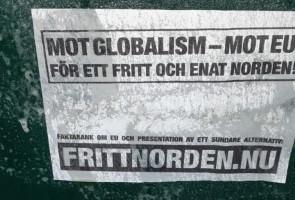 Affischer uppsatta i Gislaveds kommun