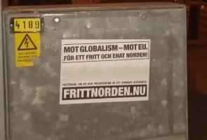 Affischering i Sotenäs kommun