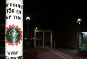 Propaganda uppsatt åt väljare – Bromölla kommun