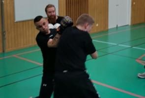 Boxningsträning med Näste 5