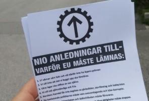 Budskapet om ett fritt och enat Norden delat i Västervik
