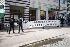 Vetlanda upplystes om det sanna motståndet mot globalismen