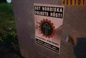 Affischering i Oxelösund