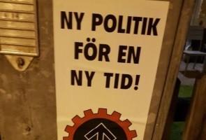 Affischering i Uddevalla