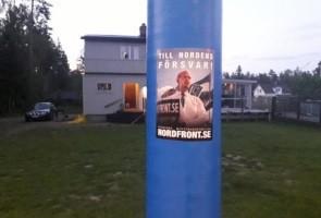 Klistermärkesuppsättning i Sandvikens kommun