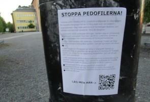 Antihomolobby-propaganda i Luleå