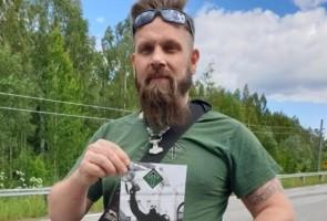 Flygbladsutdelning i Örnsköldsviks kommun