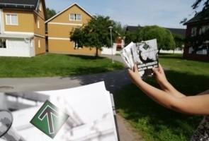 500 flygblad utdelade i Falun