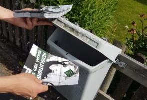 Flygbladsutdelning – Värnamo kommun