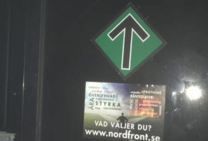 Nattpromenad med propagandaspridning – Varbergs kommun