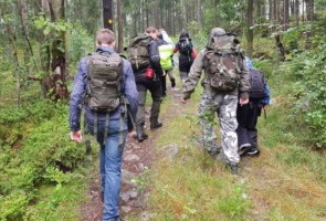 Näste 2 på vildmarksaktivitet i Borås