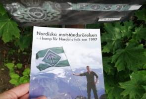 Flygbladsutdelning i Borlänge