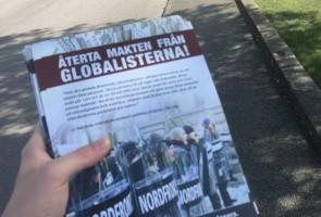 Informationsutdelning om den globalistiska finanseliten – Varberg