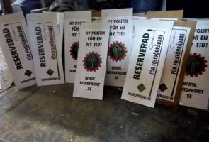 Plakattillverkning i Näste 3