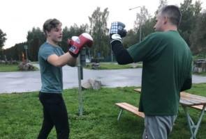 Fys och boxning i Avesta