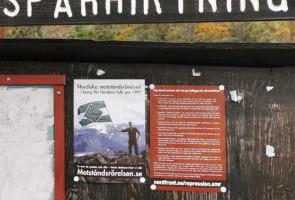 Arbete för nordbornas självklara rätt till åsiktsfrihet – Tyresö kommun
