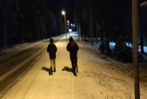 Träning i Luleå