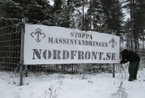 Banderolluppsättning i Luleå