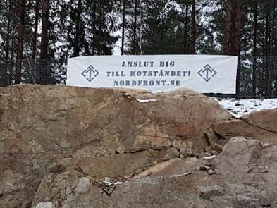 Banderoll i Avesta kommun