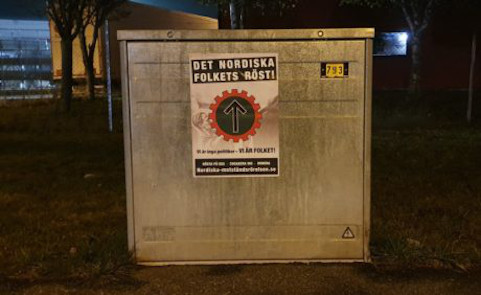 Affischering i Vimmerby
