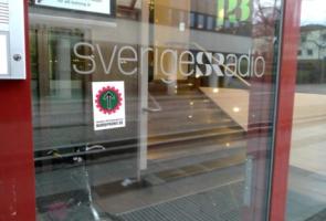 Markering mot lögnare, pedofiler och förrädare i Borås kommun