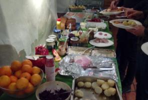 Julbord i Näste 1
