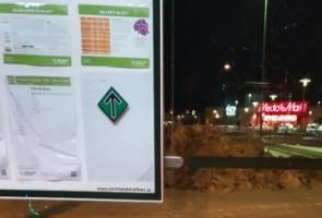 Klistermärksuppsättning i Eskilstuna