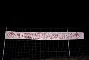 Banderolluppsättning i Kristinehamn