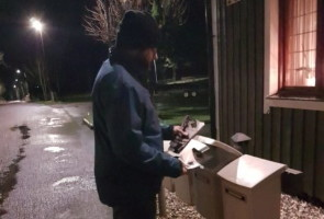 Flygblad utdelade i Gislaveds kommun