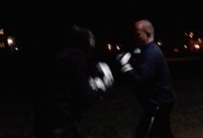 Boxningsträning i Vänersborgs kommun