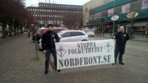 Offentlig aktion i Mariestad