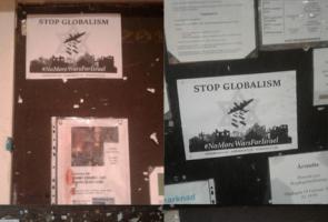 Kampanj mot förintelsebluffen i Marks kommun