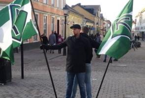 Torgmöte med tal i Nyköping