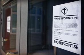 Aktion inför förintelsens minnesdag i Umeå
