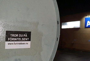 Kampanj mot förintelsebluffen i Svenljunga kommun