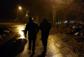 Flygbladsutdelning i Borås efter upprepade rån