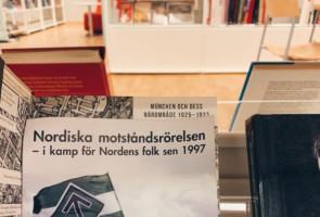 Flygblad på Växjö Stadsbibliotek