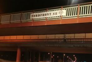Banderolluppsättning i Karlstad