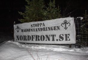 Banderoller uppsatta i Luleå