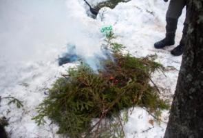 Vildmarksaktivitet i Luleå